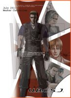 WESKER BOOk COVER 2 by wesvin