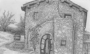 Tuscan House by Pomegranate-Pen