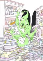 the librarian by Lorian-Dragon