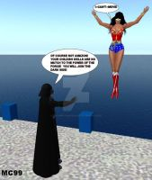 Wonder Woman Vs. Darth Vader 1 by The-Mind-Controller