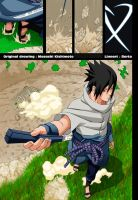 Naruto 567-Sasuke by Salty-art