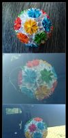 Kusudama 17 by lonely--soldier