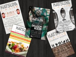 Katsuya Commission Flyers by MrSunnyBlack