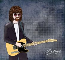 Jeff Lynne by sarzosa