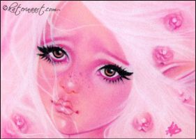 Pretty in Pink by Katerina-Art