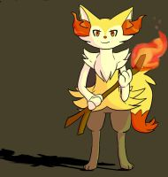 badly done Braixen by catgirl101-chan