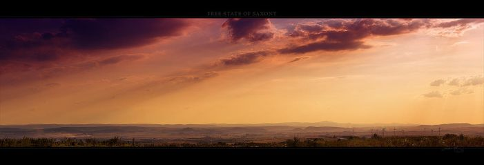 Free State of Saxony by Panomenal