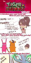 TIGER AND BUNNY meme by sachixakechi