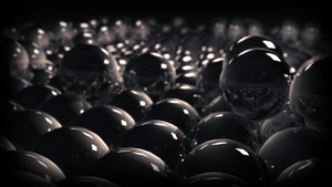 reflective spheres by JoaoYates