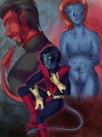 X-men - family ties by Pandablubb