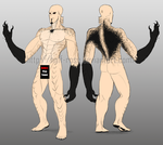 General body reference by half-rose