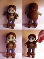 Mini Hiccup Plushie by StrawberryParall