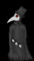 Plague doctor by FrostMirriam