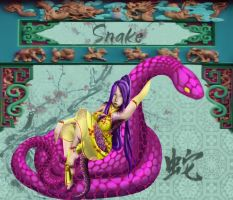 Year of the Snake by yellowflowerevy