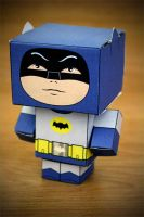 CubeCraft 60's Batman by digital-uncool