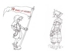 10 Years of Dreams by PainterCloud