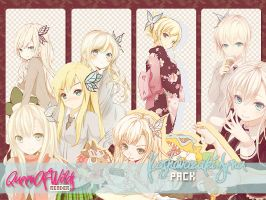 Kashiwazaki Sena Render Pack by queenofwilds