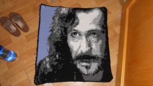 Sirius / Harry Potter Blanket Square by Maintje