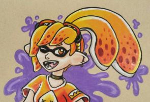 Splatoon Girl by starbuxx