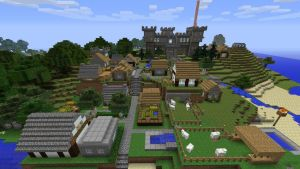 Medieval Village -Minecraft by BexRani