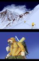 Everest Climber by psypher101
