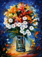 Fascination oil painting on canvas by L.Afremov by Leonidafremov