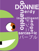 Donnie and Type by ActionKiddy