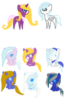 Lira and Iceyy Foals by Dreamer12423