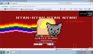 nyan cat by franceeisbest