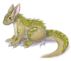 Lizard bunny thing bwah by nepryne