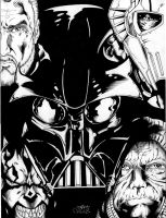 Dark Lords of the Sith by Inker-guy