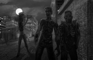 zombies. by Shane-D-Solomon