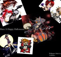 Halloween Town SoKai Wallpaper by kairixsoralova