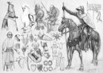 Medieval rider and stuff (4) by StarDlx1984