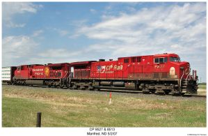 CP 9527 and 8513 by hunter1828