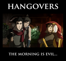 Legend of Korra - Hangovers by yourparodies