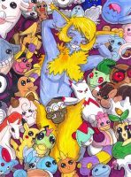 :GJK: Love for plushies by Clytemnon