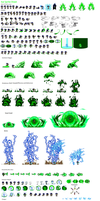 Kai Sprite Sheet by LightReality