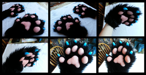 Lunar Handpaws by CuriousCreatures