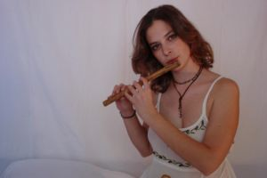 Earthy with Flute 04 by HiddenYume-stock
