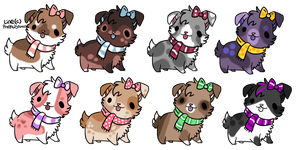Adoptable Doglets - CLOSED by PoonieFox