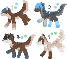Teris x Stag Litter - Closed by KittehzAdopts