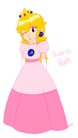 Mario Party Peach by bms408