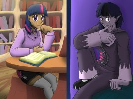 Human Twilight/Werelight by AdvancedDefense