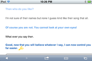 Talking To Clever Bot About Ben Part 2 by Death10281