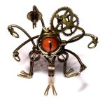 Steampunk Xorn Robot Sculpture by CatherinetteRings