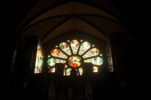 Stained Glass Window by VirginiaRoundy