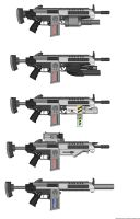MA-78 Assault rifle by Xrayleader