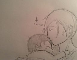 Father and son by videogamemaniac001
