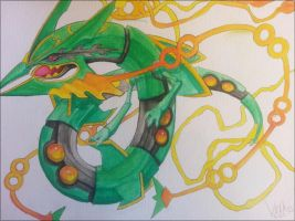 Mega Rayquaza by Velkss